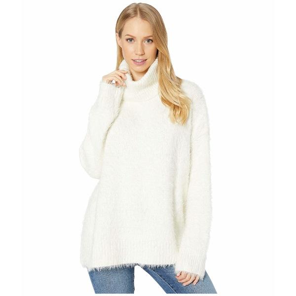 ウミーユアムーム レディース ニット&セーター アウター Fatima Turtleneck Sweater Fuzzy White