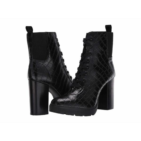 スティーブ マデン レディース ブーツ&レインブーツ シューズ Latch Combat Boot Black Croco