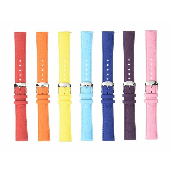 ミッシェル レディース 腕時計 アクセサリー 18 mm Carousel Silicone Strap Gift Set Multi