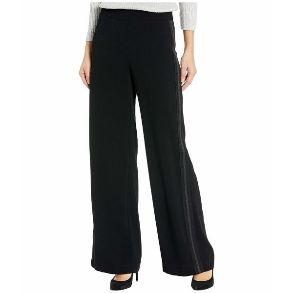 ナネットレポー レディース カジュアルパンツ ボトムス Stripe Trousers Black
