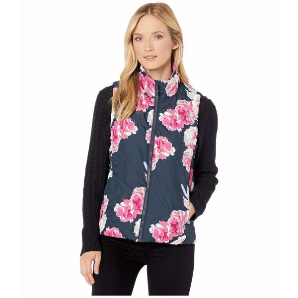 トリバル レディース コート アウター Reversible Vest w/ Pockets Ink