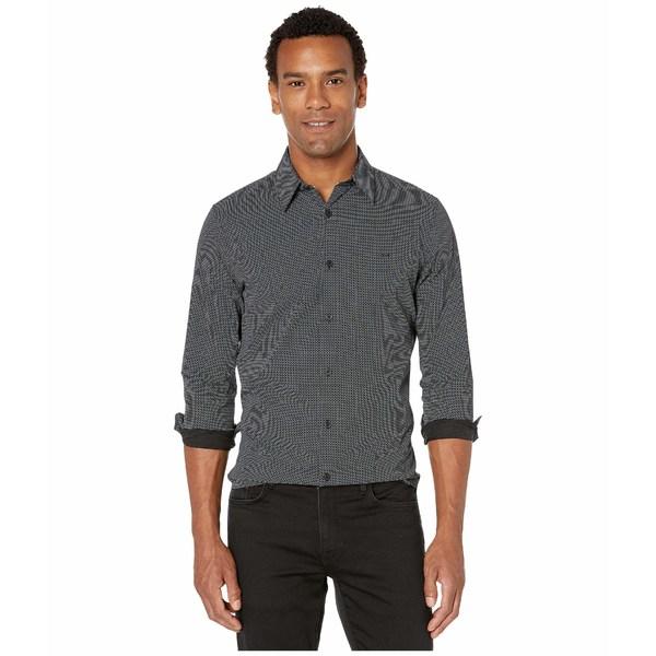 カルバンクライン メンズ シャツ トップス Long Sleeve Woven Black