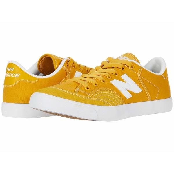 ニューバランス メンズ スニーカー シューズ NM212 Yellow/White