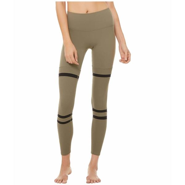 アロー レディース カジュアルパンツ ボトムス High-Waist Legit Leggings Olive Branch/Black