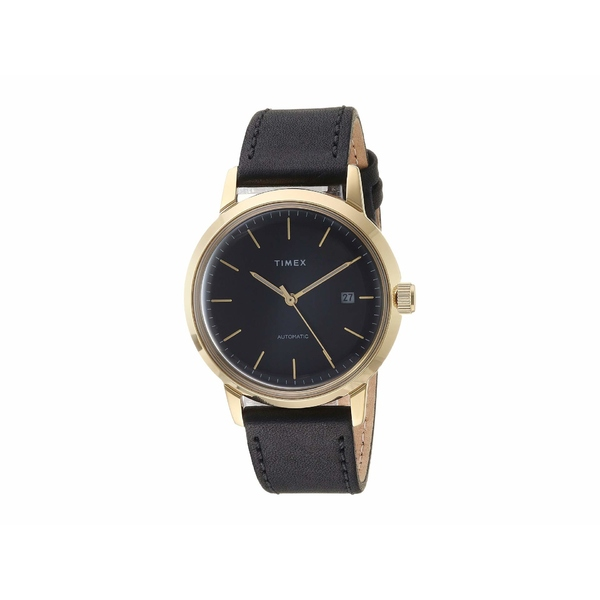 タイメックス メンズ 腕時計 アクセサリー Marlin Automatic Black/Gold