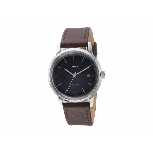 タイメックス メンズ 腕時計 アクセサリー Marlin Automatic Black/Silver