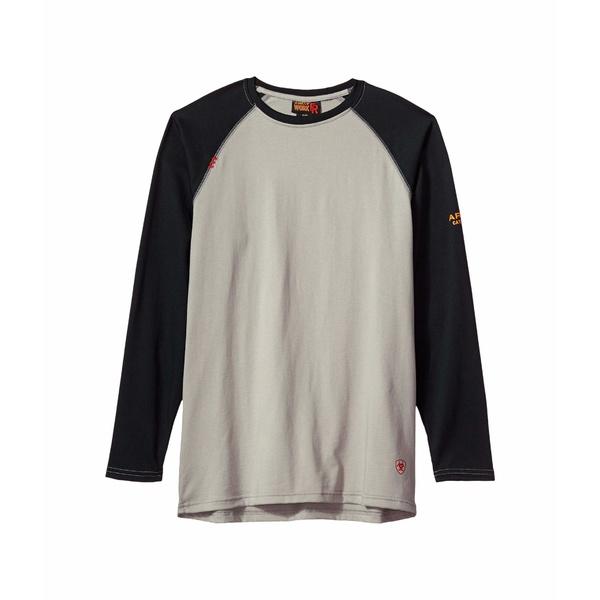 アリアト メンズ シャツ トップス FR Baseball T-Shirt Grey/Black