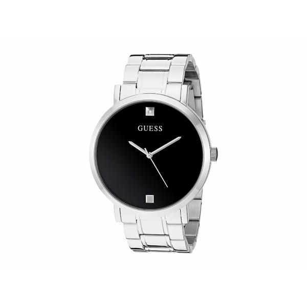 ゲス メンズ 腕時計 アクセサリー U1315G1 Silver-Tone/Black