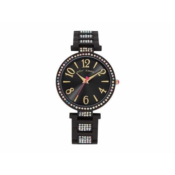 ベッツィジョンソン レディース 腕時計 アクセサリー Linked Love Watch Black