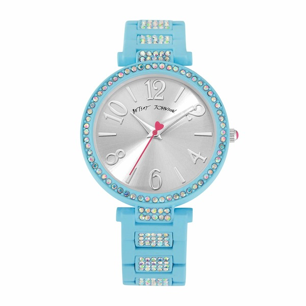 ベッツィジョンソン レディース 腕時計 アクセサリー Linked Love Watch Blue