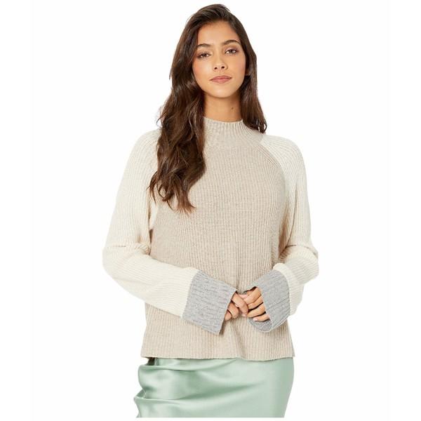 スプレンディット レディース ニット&セーター アウター Alta Color Block Pullover Sweater Heather Toast