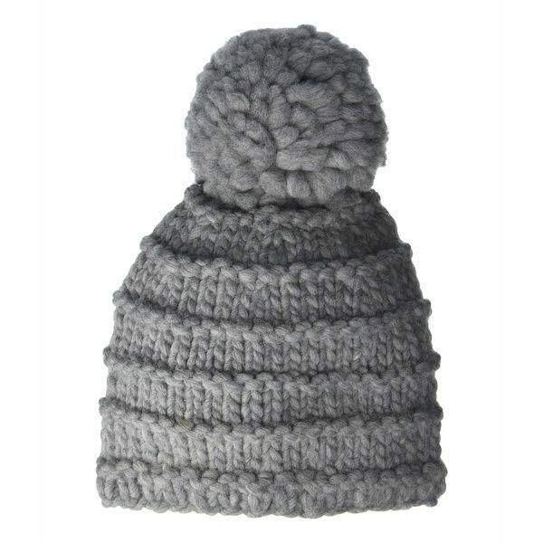 フライ レディース 帽子 アクセサリー Tuck Jersey Set - Beanie Medium Heather Gray
