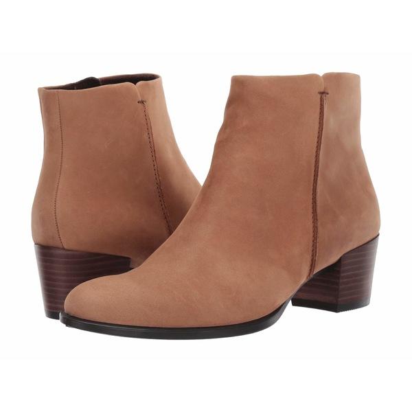 エコー レディース ブーツ&レインブーツ シューズ Shape 35 Stitch Boot Camel Nubuck Leather