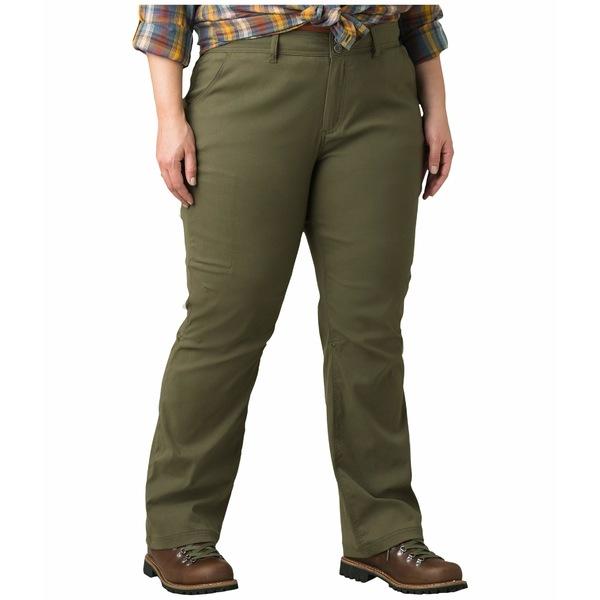 プラーナ レディース カジュアルパンツ ボトムス Plus Size Halle Pants Cargo Green