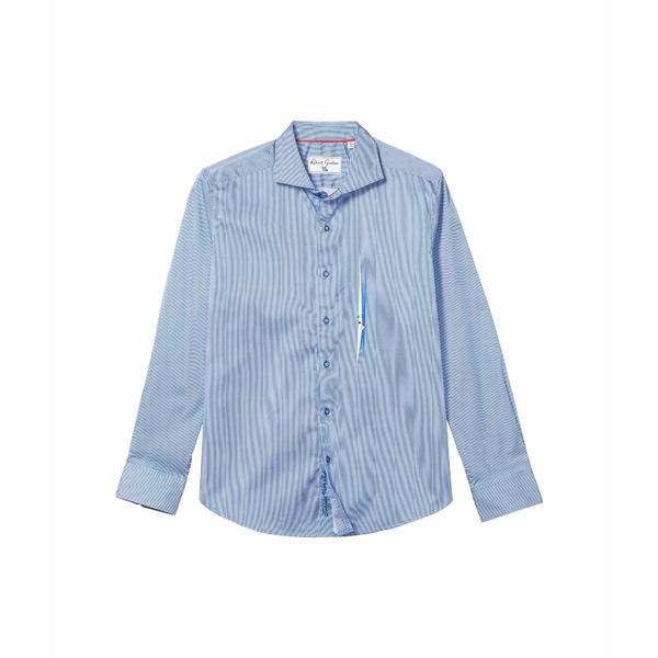 ロバートグラハム メンズ シャツ トップス Voyeur Button-Up Shirt Navy
