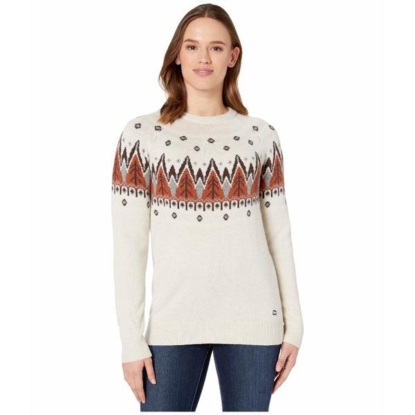ヘリーハンセン レディース ニット&セーター アウター Wool Knit Sweater White