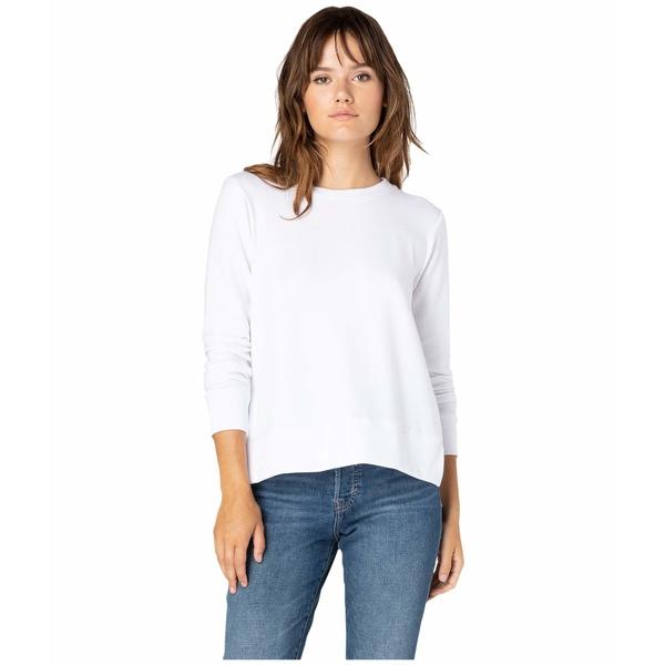 ビヨンドヨガ レディース シャツ トップス Just Chillin Long Sleeve Pullover White
