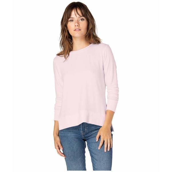 ビヨンドヨガ レディース シャツ トップス Just Chillin Long Sleeve Pullover Pink Blush
