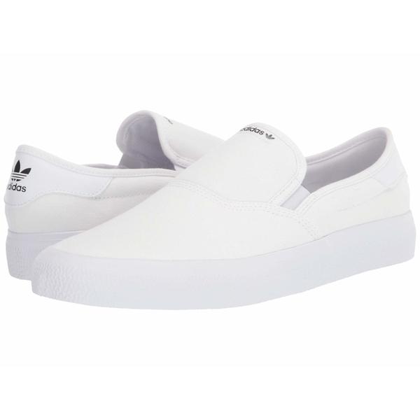 アディダス メンズ スニーカー シューズ 3MC Slip Footwear White/Footwear White/Core Black