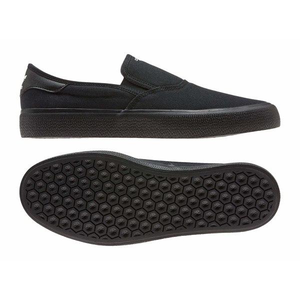 アディダス メンズ スニーカー シューズ 3MC Slip Core Black/Core Black/Footwear White