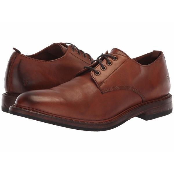 フライ メンズ ドレスシューズ シューズ Murray Oxford Cognac Washed Dip-Dye Leather