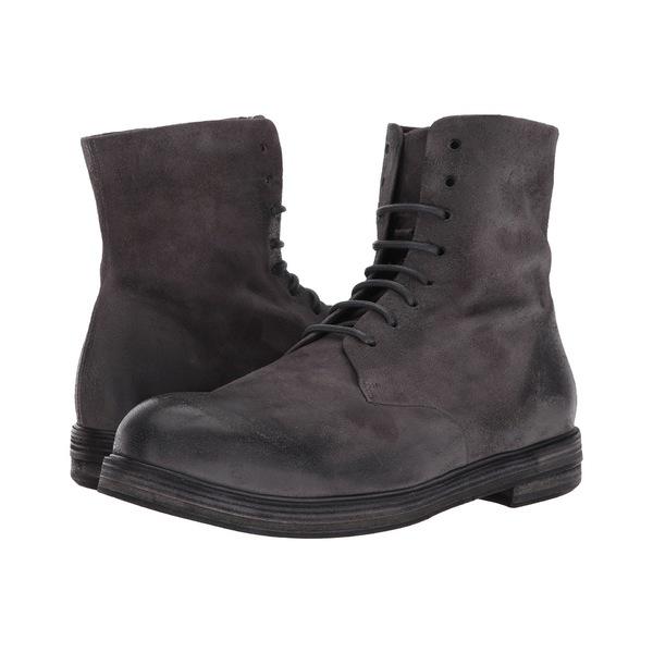 マルセル メンズ ブーツ&レインブーツ シューズ Suede Lace-Up Boot Grey