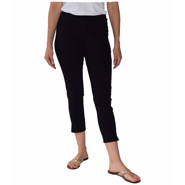 クレイジーラリー レディース カジュアルパンツ ボトムス Pull-On Seamed Skinny Ankle Pants Black