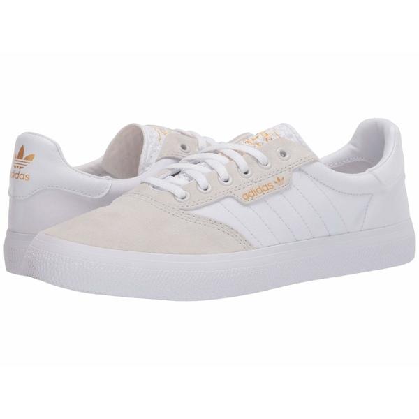 アディダス メンズ スニーカー シューズ 3MC Crystal White/Footwear White/Gold Metallic