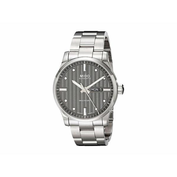ミド メンズ 腕時計 アクセサリー 42 mm Multifort Gent Automatic Stainless Steel Anthracite - M0054301106180 Silver