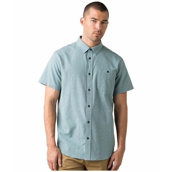 プラーナ メンズ シャツ トップス Jaffra Short Sleeve Shirt Breeze