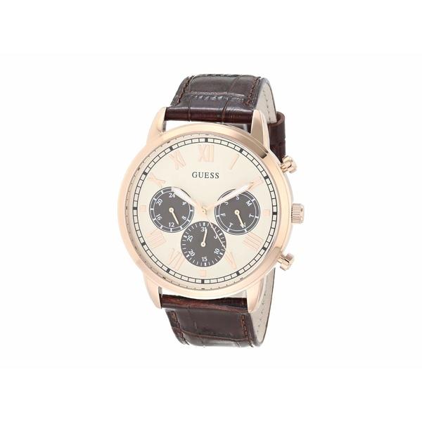 ゲス メンズ 腕時計 アクセサリー GW0067G3 Rose Gold-Tone/Brown