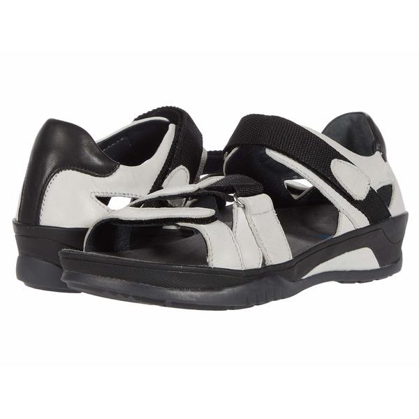 ウォルキー レディース サンダル シューズ Ripple Off-White Savana Leather