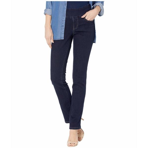 ジャグジーンズ レディース デニムパンツ ボトムス Peri Pull-On Straight Jeans in Butter Denim Ink