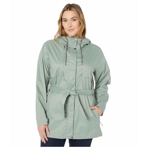 コロンビア レディース コート アウター Plus Size Pardon My Trench Rain Jacket Light Lichen