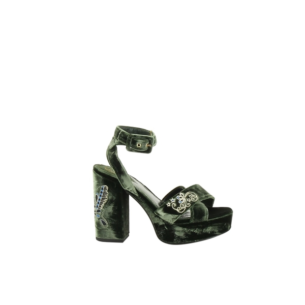 アッシュ レディース サンダル シューズ ASH Boom Butterfly Sandals Green