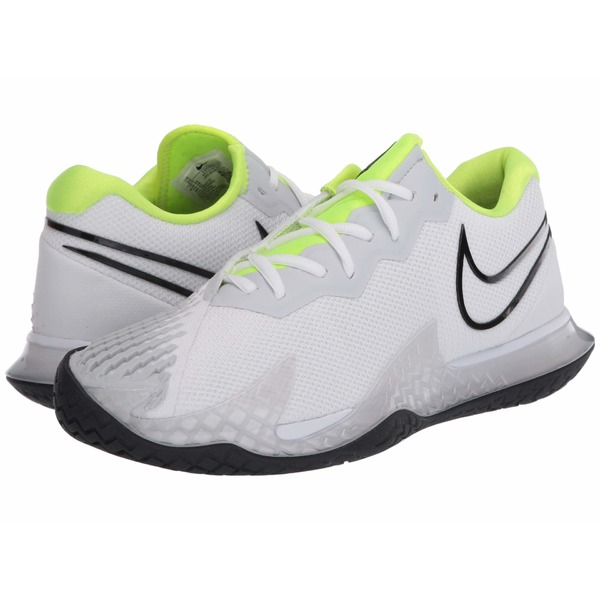 ナイキ メンズ スニーカー シューズ NikeCourt Air Zoom Vapor Cage 4 White/Black/Volt/Pure Platinum