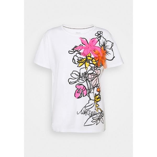 ケイン マーク T-shirt Print Tシャツ pink レディース shocking トップス -