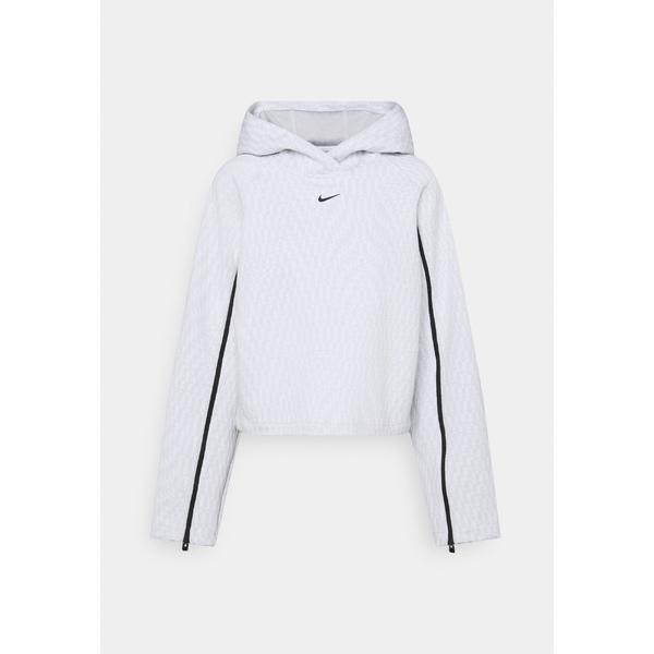 ナイキ レディース パーカー・スウェットシャツ アウター HOODIE - Sweatshirt - light grey