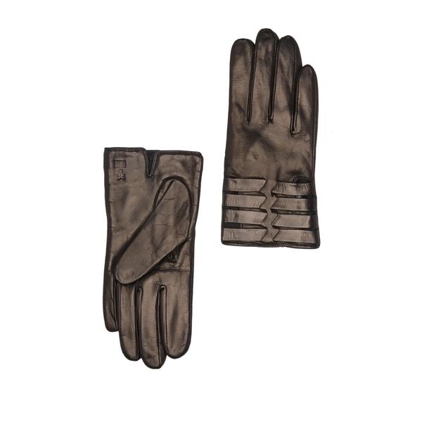 フライ レディース アクセサリー 手袋 BLACK MELANGE Leather 全商品無料サイズ交換 Gloves 期間限定の激安セール お見舞い