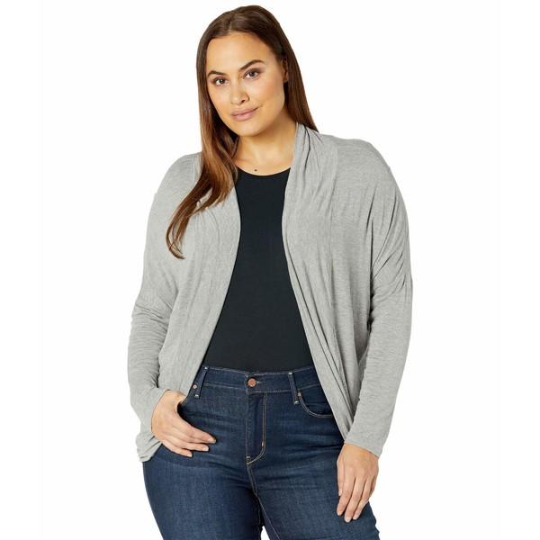 Grey レディース ニット&セーター Wrap Size Munra プラーナ Heather Foundation アウター Plus
