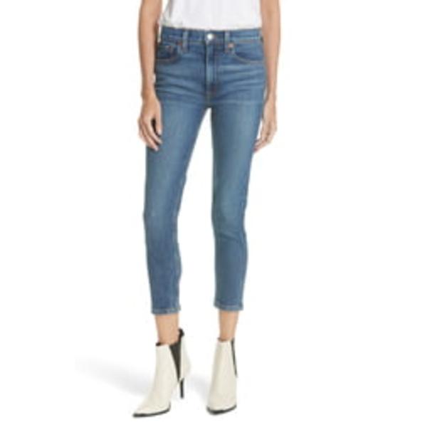 リダン レディース デニムパンツ ボトムス Originals High Waist Crop Jeans Mid 70s