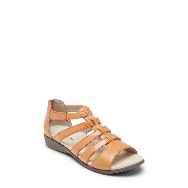 アラヴォン レディース サンダル シューズ Abbey Gladiator Sandal Tan Leather
