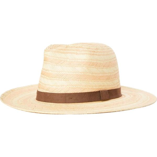 ブリクストン メンズ 帽子 アクセサリー Aurora Fedora - Women's Peach/Tan