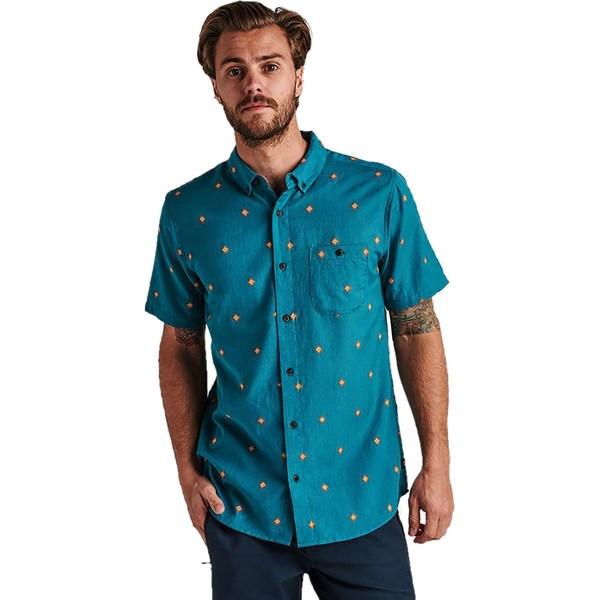 ロアークリバイバル メンズ シャツ トップス Kemang Shirt - Men's Marine Blue