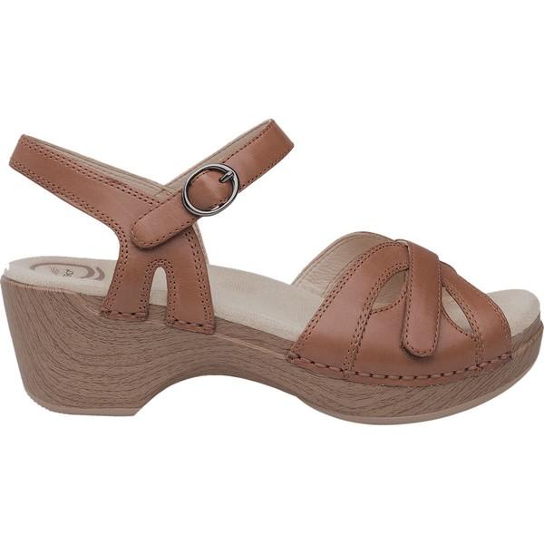 ダンスコ レディース サンダル シューズ Season Sandal - Women's Camel Full Grain