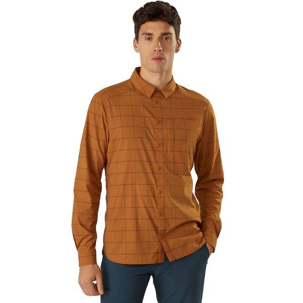 アークテリクス メンズ シャツ トップス Riel Long-Sleeve Button-Up Shirt - Men's Akola