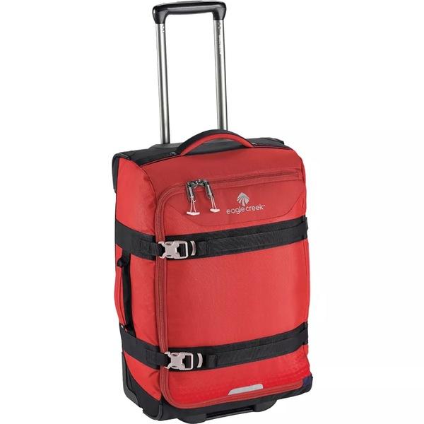 イーグルクリーク レディース ボストンバッグ バッグ Expanse Wheeled Duffel Carry On Bag Volcano Red
