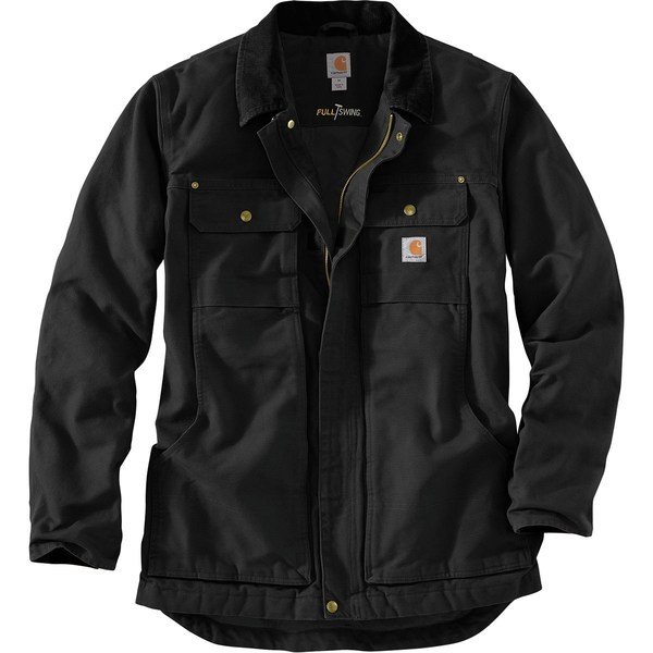 カーハート メンズ ジャケット&ブルゾン アウター Full Swing Armstrong Traditional Coat - Men's Black