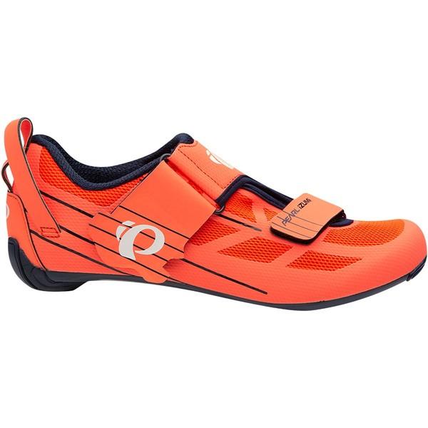 パールイズミ レディース サイクリング スポーツ Tri Fly Select V6 Cycling Shoe - Women's Navy/Fiery Coral