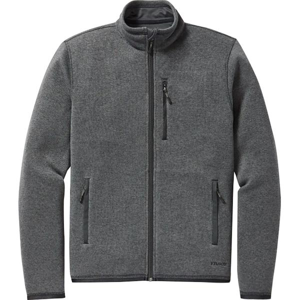 フィルソン メンズ ジャケット&ブルゾン アウター Ridgeway Fleece Jacket - Men's Charcoal Heather